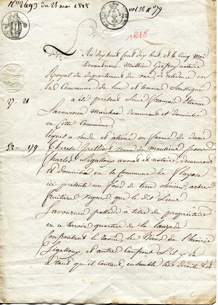 acte 1818 1