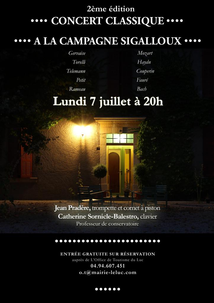 Affiche concert lundi 7 juillet