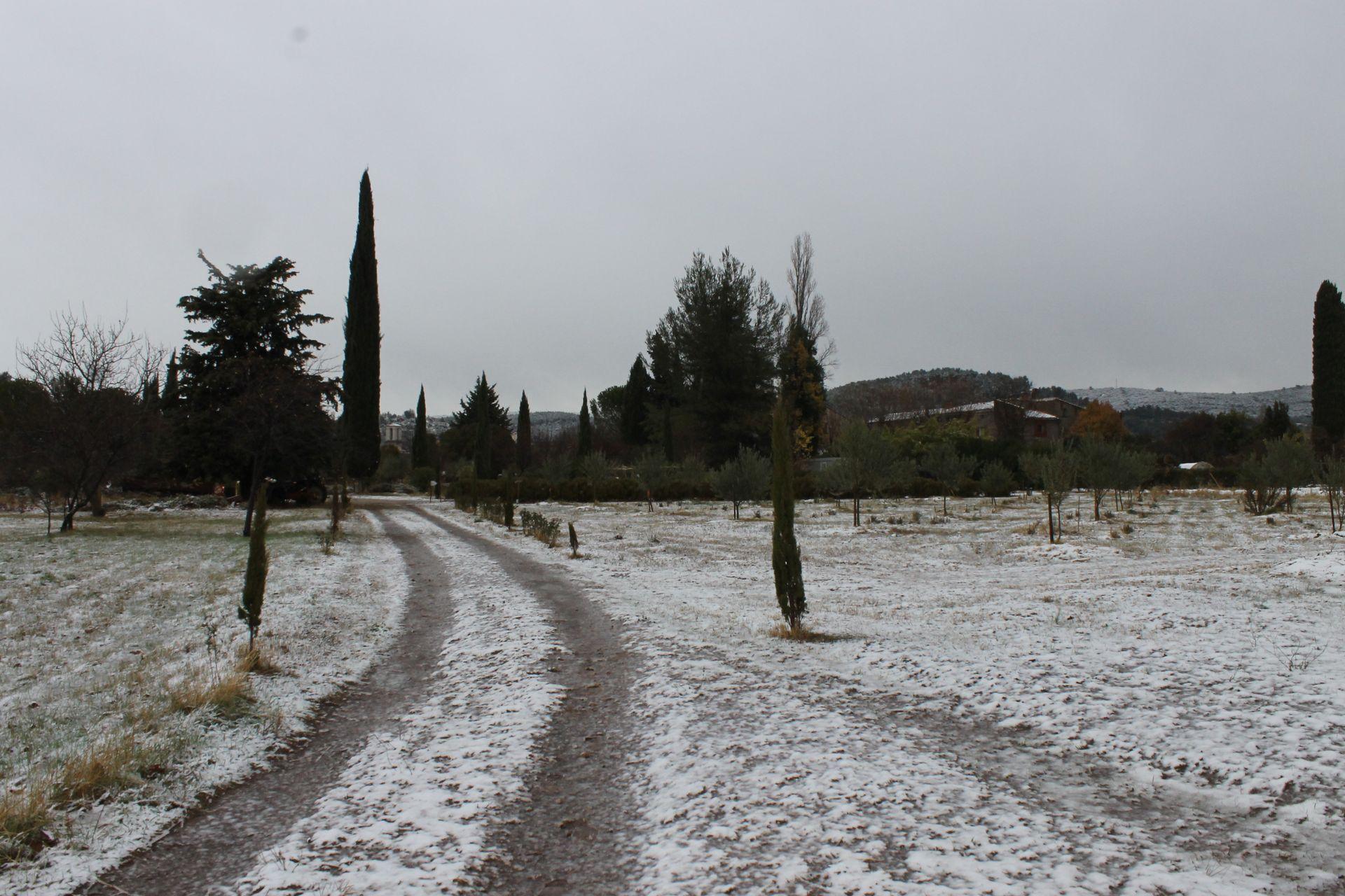 la campagne Sigalloux sous la neige